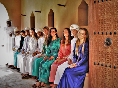 Grand Valley State University faculty-led trip to Oman, 2017
