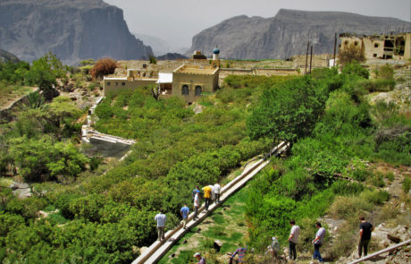 Trekking in Jabal Akdar